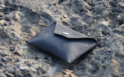 Porte monnaie gris