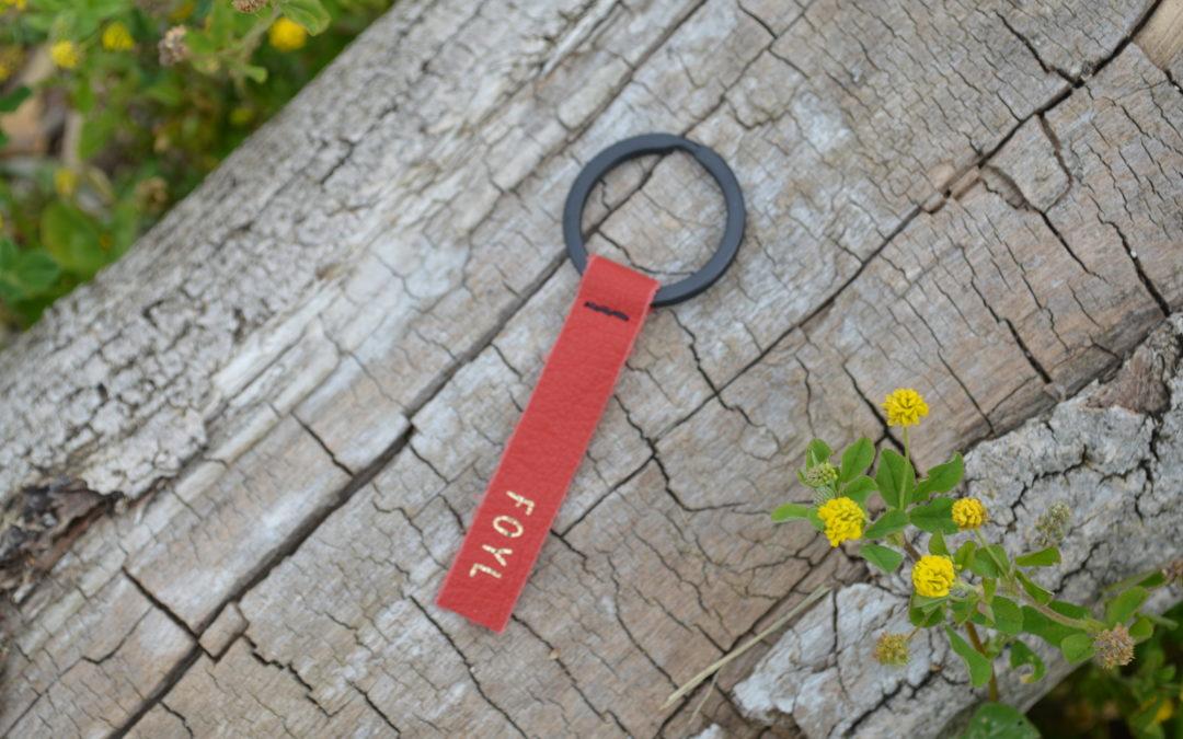 Porte-clé rouge