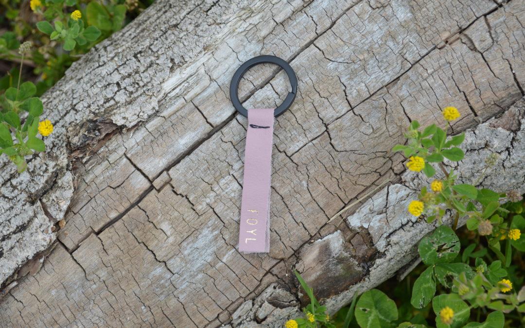 Porte-clé rose